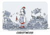 Cartoon: I wish you a merry... (small) by FEICKE tagged messi,weihnacht,christmas,xmas,wortspiel
