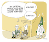 Cartoon: Konifere (small) by FEICKE tagged arzt,doktor,baum,konifere,koryphäe,wortspiel,patient