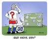 Cartoon: Quo vadis HSV (small) by FEICKE tagged hamburger,sportverein,hsv,fußball,fussball,hauptversammlung,reform,abstimmung,zeitbombe,greuther,fürth,lasogga,vaart,bundesliga,abstieg,relegation,liga,slomka,absteiger,abstiegsplatz,cartoon,comic,karikatur,witz