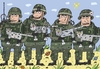 Cartoon: Die Soldaten (small) by Sergei Belozerov tagged der,soldat,die,katze