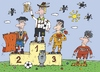 Cartoon: Euro 2012 Prognose (small) by Sergei Belozerov tagged euro,2012,fussball