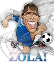 Cartoon: Gianfranco Zola (small) by Russ Cook tagged gianfranco,zola,italy,italian,soccer,football,chelsea,premier,leaugu,karikatur,karikaturen,caricature,caricatures,illustration,cartoon,vector,digital,russ,cook,computer,art