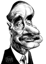 Cartoon: H.G. Wells (small) by Russ Cook tagged wells,russ,cook,writer,science,fiction,author,drawing,caricature,art,illustration,zeichnung,karikatur,karikaturen,caricatures