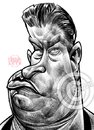 Cartoon: Stephen Baldwin (small) by Russ Cook tagged stephen,baldwin,actor,star,hollywood,celebrity,big,brother,famous,celebrities,movies,usual,suspects,america,american,caricature,caricatures,russ,cook,illustration,pencil,sketch,wacom,cintiq,photoshop