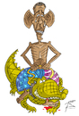 Cartoon: Die Kunst des Krieges (small) by Sergey Repiov tagged obama,putin,krokodil