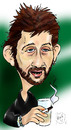 Cartoon: Shane MacGowan (small) by Mark Anthony Brind tagged shane,macgowan,mark,brind,caricature