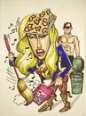 Cartoon: Lady Gaga (small) by caknuta-chajanka tagged lady,gaga