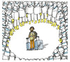 Cartoon: Isolated Ebola. (small) by martirena tagged ebola,airport,isolated,africa