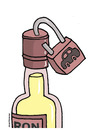 Cartoon: Prohibition of alcohol. (small) by martirena tagged prohibition