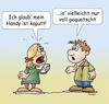 Cartoon: Handy kaputt (small) by wista tagged handy,mobile,mobiltelefon,iphone,kaputt,defekt,funktioniert,nicht,kein,empfang,speicher,voll,bilder,fotos,whats,app,apps,download