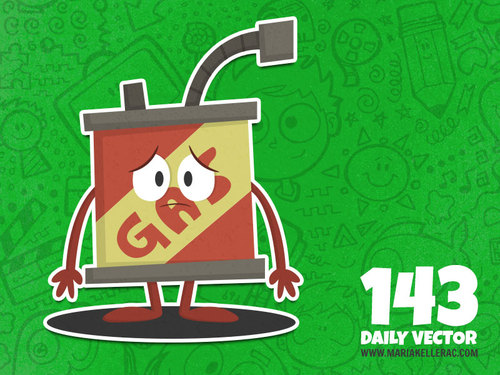 Cartoon: Daily Toon - Gas (medium) by kellerac tagged gasoline,gas,kids,cute,daily,toon,vector,mexico