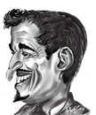 Cartoon: Sammy Davis Jr (small) by cabap tagged caricature
