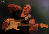 Cartoon: In Blues We Trust! Popa Chubby (small) by szomorab tagged popa chubby live blues music guitar concert
