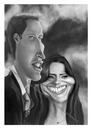 Cartoon: William and Kate (small) by PlainYogurt tagged royal,caricature