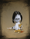Cartoon: Decapiteddy (small) by Hellder Gonzales tagged dead,little,girl,cartoon,new,school