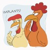 Cartoon: Chicken may have teeth (small) by Wilmarx tagged chicken,health,dentistry