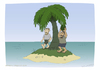 Cartoon: Coconut head (small) by Wilmarx tagged desert,island
