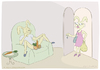 Cartoon: happy easter darling (small) by Wilmarx tagged easter,holiday,eggs