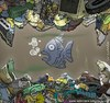 Cartoon: O monstro do lago (small) by Wilmarx tagged ecologia nature animal animals