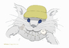 Cartoon: The Smiling Cat (small) by Wilmarx tagged smile,cat,fish,graphics