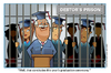 Cartoon: Student Debt in the USA (small) by carol-simpson tagged debt students usa debtors prison