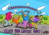 Cartoon: Raaa! (small) by Leichnam tagged raaa,toons,täglich,grotesk