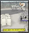 Cartoon: Ethnic Prison (small) by cartertoons tagged prisoners,prison,jail,ethnic,groups,rock,paper,scissors