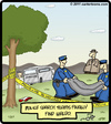 Cartoon: Here is Waldo! (small) by cartertoons tagged waldo,dead,police,crime,bodybag,search