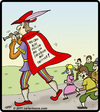 Cartoon: Pied Piper Followers (small) by cartertoons tagged pied,piper,hamelin,children,facebook,twitter,follow