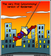 Cartoon: Realistic hero (small) by sdrummelo tagged spiderman,superhero,hero,cartoon,comic,peter,parker,stan,lee,steve,ditko,marvel