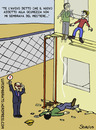 Cartoon: Safety responsible (small) by sdrummelo tagged safety,morti,bianche,incidenti,sul,lavoro,sicurezza