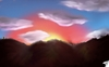 Cartoon: Sunset (small) by swenson tagged wolken,clouds,sun,sonne