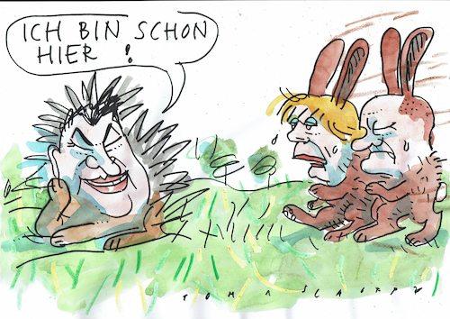 igel τουτης jan tomaschoff  Πολιτικά cartoon  toonpool