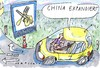 Cartoon: Cina kommt (small) by Jan Tomaschoff tagged china,europa