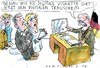 Cartoon: digitaler Trauschein (small) by Jan Tomaschoff tagged digitale,agenda,revolution