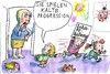 Cartoon: kalte Progression (small) by Jan Tomaschoff tagged steuern,progression