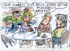 Cartoon: speed dating (small) by Jan Tomaschoff tagged date,partnersuche