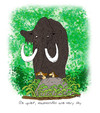 Cartoon: mammoth (small) by draganm tagged mammoth,hunting,stone,age
