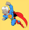 Cartoon: SuperMandela (small) by Damien Glez tagged mandela,nelson,africa,south