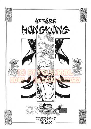 Cartoon: Affäre Hongkong Illu (medium) by FeliXfromAC tagged felix,alias,reinhard,horst,abenteuer,cartoon,illustration,illustrator,frau,girl,woman,montgomery,scott,design,line,aachen,honkong,klassisch,comic,page,china,stockart,love,liebe