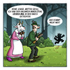 Cartoon: Mutter Geiß (small) by volkertoons tagged volkertoons cartoon lustig humor fun funny böse evil märchen fairy tale grimm geiß goat geißlein sieben mutter mother jäger hunter gewehr