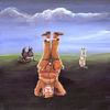 Cartoon: Old Shatterhand steht Kopf (small) by Fräulein Trullala tagged oldshatterhand,winnetou,landschaft,wildwest,kopfstand