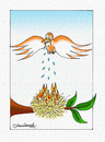 Cartoon: Birds and starvation (small) by halisdokgoz tagged birds,and,starvation