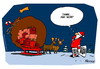 Cartoon: X-mas Leaks (small) by Wunschcartoon tagged christmas,xmas,wikileaks,assange,santa,claus
