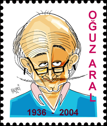Cartoon: OGUZ ARAL (medium) by Hayati tagged mizah,yazili,akademie,lehrer,turkei,silivri,istanbul,artist,karikaturist,girgir,aral,oguz,hayati,boyacioglu,berlin