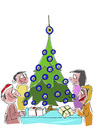 Cartoon: FROHES FEST (small) by Hayati tagged weihnachten,merry,christmas,noel,happy,hayati,boyacioglu,2012