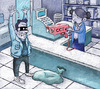 Cartoon: humor art (small) by Young Sik Oh tagged humor,art