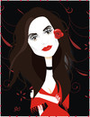 Cartoon: Penelope Cruz (small) by Nicoleta Ionescu tagged penelope,cruz