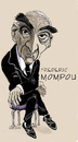Cartoon: Frederic Mompou (small) by frostyhut tagged frederic,mompou,composer,pianist,classical,music,catalan,spanish