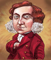 Cartoon: Gioachino Rossini (small) by frostyhut tagged classical,opera,composer,music,19thcentury,italian